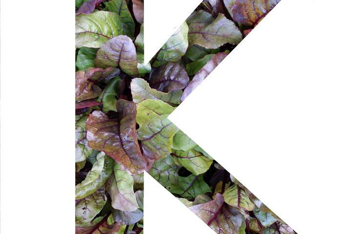Калий в овощах и зелени