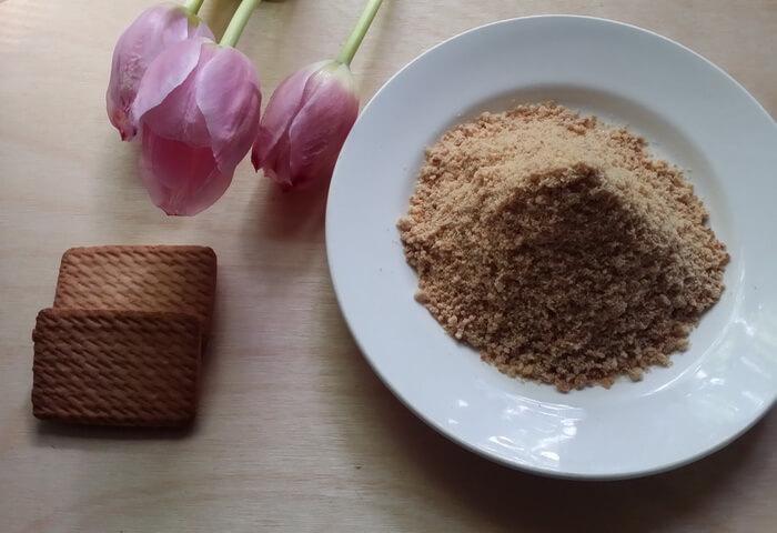 Как измельчить печенье
