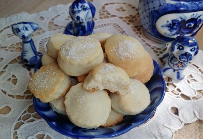 Печенье из детского творожка