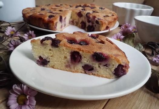 Кусочек виноградного пирога