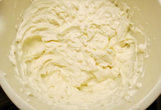 Крем чиз для морковного торта