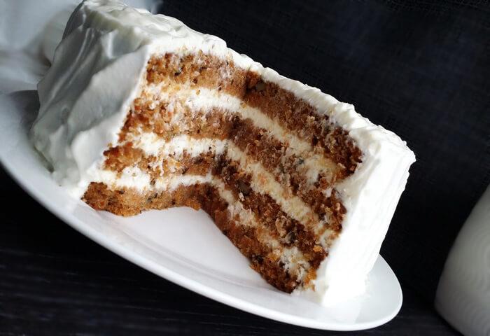 Морковный торт с кремчиз
