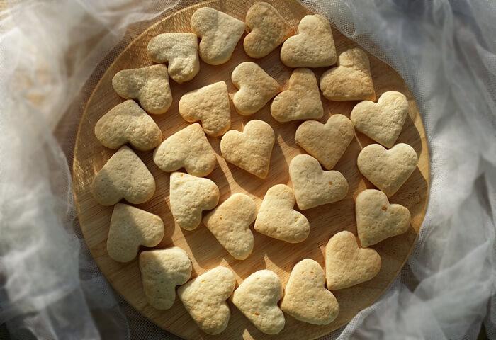 Печенье с лимонной цедрой на кефире