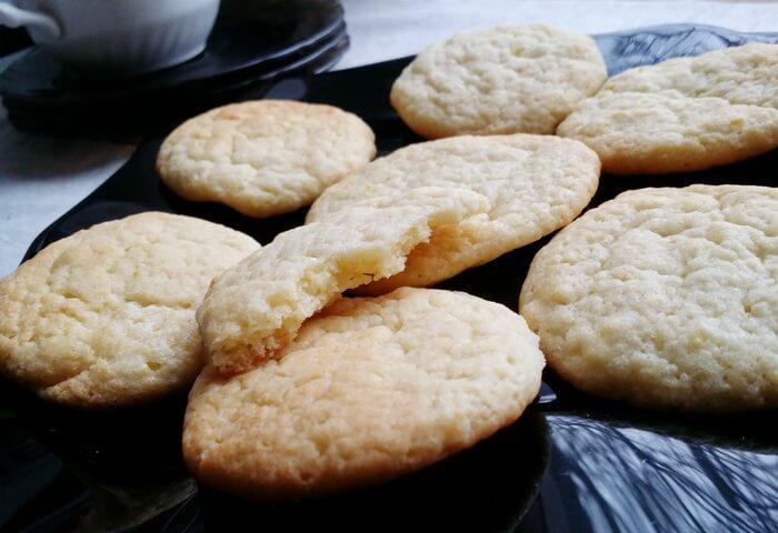 Печенье с лимонной цедрой на скорую руку