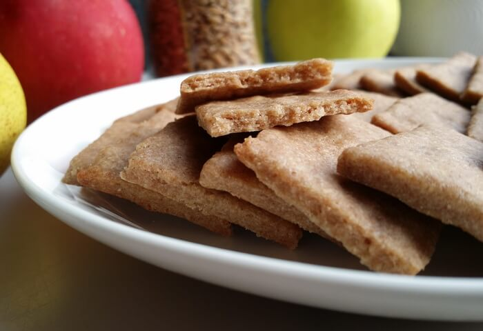 Печенье из полбы с корицей