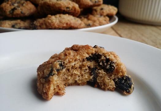 Печенье из полбяной муки и овсяных хлопьев