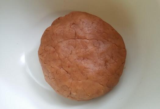 Печенье для чизкейка с клубникой без выпечки