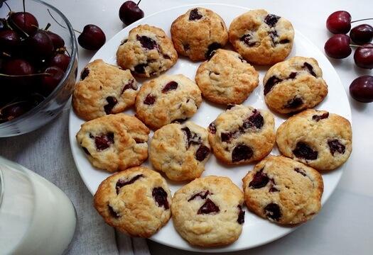 Печенье из черешни
