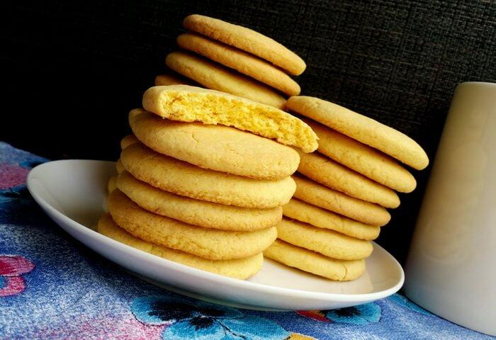 Печенье из кукурузной муки на кефире